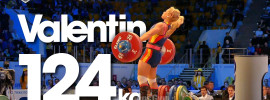 Lydia Valentin 124kg Snatch Almaty 2014 World Championships