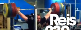 Fernando Reis 230kg Snatch Balance