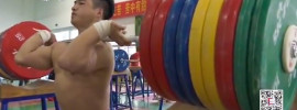Chinese Weightlifting Men's 2015 Winter Training *Update* Part 2 Wu Jingbiao 135kg Snatch