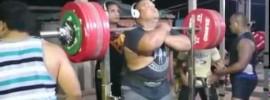 Jezza Uepa 350kg Front Squat