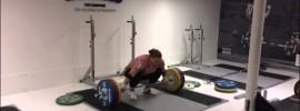 Tatiana Kashirina 200kg x6 Squat + 140kg Snatch