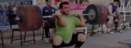 Sohrab Moradi 235 clean 94kg class