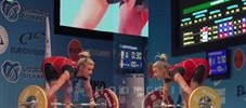 Boyanka Kostova 109kg Snatch, 137kg Clean and Jerk & Total European Records