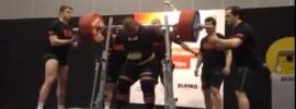 Jezza Uepa 415kg Squat