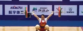 2015 Chinese Women's Weightlifting Nationals *Meng Suping 193kg C&J*