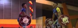 Luis Mosquera (69kg) 150kg Snatch + 186kg Clean & Jerk