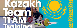 Visiting the Kazakh Weightlifting Training Camp in Poland *Ilya's Deadlifts*