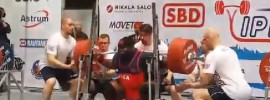 Ray Williams Squat and Total World Record