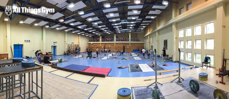 spala training hall small