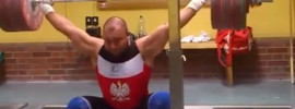Bartlomiej Bonk 200kg Snatch
