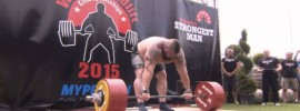 Eddie Hall 463kg Deadlift