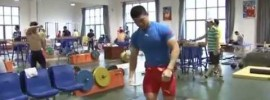 Chinese Weightlifting Team Summer 2015 Training Camp