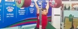 Ilya Ilyin 250kg Jerk from Rack