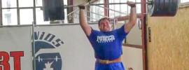 Aleksey Lovchev 200kg Thruster *Update 200kg by Fernando Reis*