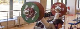 Sohrab Moradi 235kg Clean