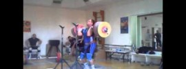 Dmitry Lapikov 260kg Front Squat + Jerk