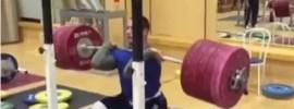 Marcel Guidea 280kg Front Squat