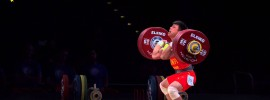 Lijun Chen 183kg Clean and Jerk World Record + 333kg Total World Record