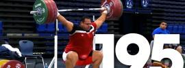 Mohammed Ehssan 195kg Snatch + 240kg Clean and Jerk