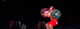 Wei Deng 146kg Clean and Jerk World Record