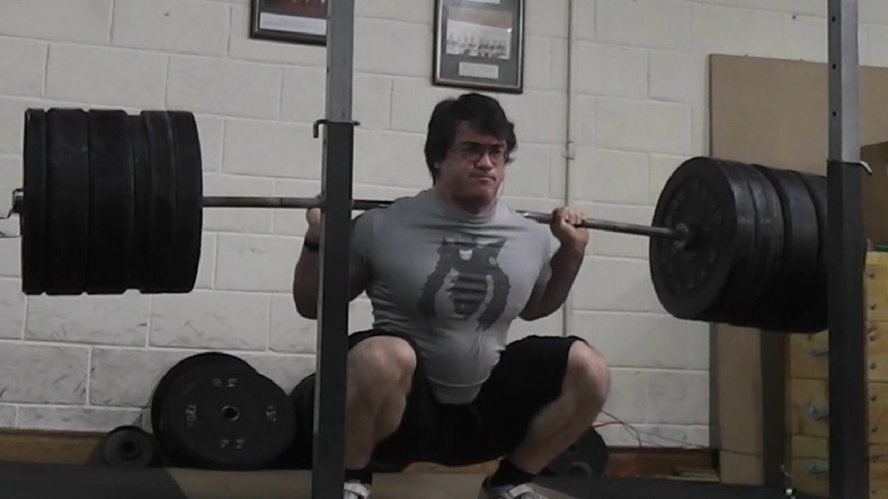 Clarence Kennedy 260kg Pause Squat 5x5 - All Things Gym
