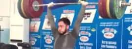 Denis Ulanov 215kg Clean and Jerk