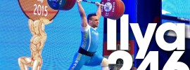Ilya Ilyin 246kg Clean and Jerk World Record & 437kg Total World Record *Warm Up Snatch Video*