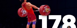 Tian Tao 178kg Snatch 2015 World Weightlifting Championships