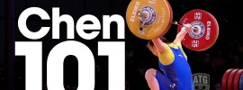 Chen Xiaoting 101kg Snatch 2015 World Championships