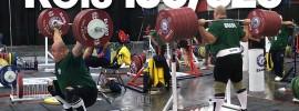 Fernando Reis 320kg Back Squat 180kg Hang Snatch