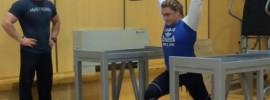 Olga Zybova 160kg x2 Jerk *Update* 170kg