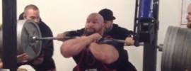 Derek Kendall 387kg Front Squat