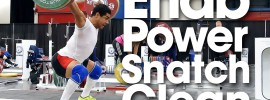 Mohamed Ehab 160kg Power Clean Jerk *Full Session*