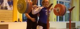 Olga Zubova 200kg x2 Squat