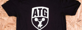 New Black & White ATG Shirt is Here!