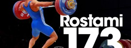 Kianoush Rostami 173kg Snatch 2015 World Weightlifting Championships
