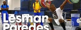 Lesman Paredes 2015 Worlds Training Hall