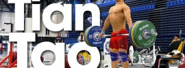 Tian Tao Trapi (Snatch Grip Upright Rows) 2015 World Weightlifting Championships