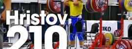 Valentin Hristov 210kg Front Squat