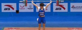 2016 Chinese National Weightlifting Championships – *Tian Tao 220kg Clean and Jerk*
