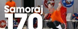 Jaroslaw Samoraj 170kg Snatch 2016 Europeans Training Hall