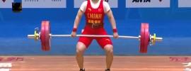 Li Yajun 104kg Snatch 2016 Chinese National Weightlifting Championships