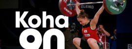 Rebeka Koha 90kg Snatch 2016 European Weightlifting Championships