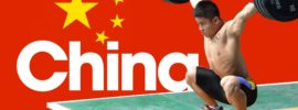 Team China Training Hall 2016 Asian Weightlifting Championships