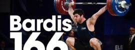 Giovanni Bardis 166kg Snatch 2016 European Weightlifting Championships