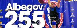 Ruslan Albegov 255kg Clean and Jerk 2016 Russian Weightlifting Championships