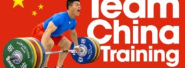 Team China Training Hall 2015 World Weightlifting Championships