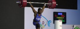 Clarence Cummings 180kg Clean and Jerk Youth World Record & Total, 2016 Junior World Weightlifting Championships
