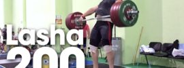 Lasha Talakhadze 200kg Snatch + 240kg Clean and Jerk Session