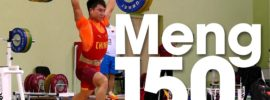 Meng Cheng 150kg Clean and Jerk 2016 Junior World Weightlifting Championships